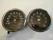 Triumph Speedo/Tacho Set  SMITHS, 1970-74 SSM5007/02, RSM3003/13