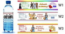 Wizard of Oz ~ Printed Water Bottle Labels ~ Birthday Party Favors Supplies