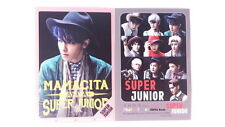 SUJU Photo Sticker Set Book ( 48 Pcs ) KPOP Korean Pop Stickers Super Junior