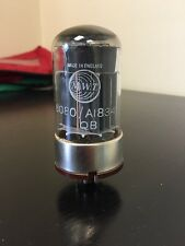 6080 A1834 MARCONI GEC NOS VALVE/TUBE (LC19)