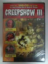 Creepshow III 3 - DVD nuovo - Stephen King George Romero