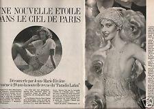 Coupure de presse Clipping 1978 Anne Vos du Paradis Latin  (4 pages)