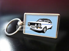 FORD ESCORT HARRIER METAL KEY RING. CHOOSE YOUR CAR COLOUR.