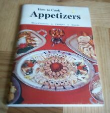 HOW TO COOK APPETIZERS COOK BOOK ENGLISH SOFT COVER ILLUSTRATED