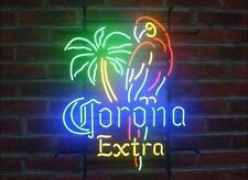 "New Corona Extra Parrot Palm Tree Neon  Sign 20""x16"" Ship From USA"