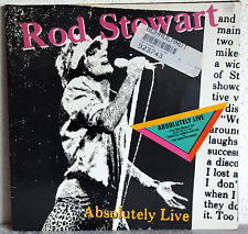 "12"" Vinyl ROD STEWART - Absolutely Live - 2LP"
