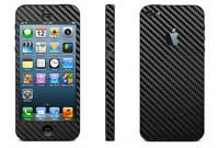 Carbon fiber Skin Full Body Sticker for Apple iPhone 5 & iPhone 4 / 4S
