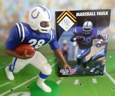 1995  MARSHALL FAULK - Starting Lineup - SLU - Loose With Cards - Indian. Colts