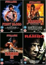 RAMBO Complete Collection All Movies Films Collection Part 1 2 3 4 First Blood