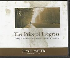 THE PRICE OF PROGRESS        Joyce Meyer         4 CDs