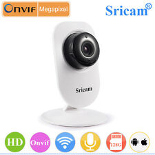 Sricam HD 720P Onvif Wifi P2P Wireless IP Security Camera LED IR Audio Webcam