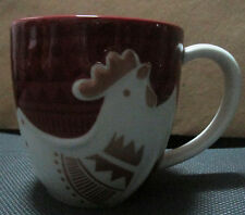 2017 Starbucks Rooster mug  new on hand ready to ship sku sticker