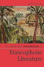 The Cambridge Introduction to Francophone Literature (Cambridge Introductions to
