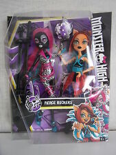 Monster High-fierce Rockers-Toralei Stripe & Catty Noir-nuevo & OVP