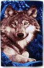 XXL Handtuch Wolf Wölfe Strandtuch Saunatuch Badetuch Duschtuch Western Baumwoll