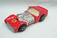 Vintage Matchbox Superfast No 19 Road Dragster Car - Made In England By Lesney