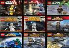 Brand New & Sealed LEGO DC Marvel Super Heroes & Star Wars Minifigures Polybags