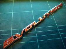 MITSUBISHI LANCER EVOLUTION 3D CHROME BADGE EMBLEM LOGO NEW