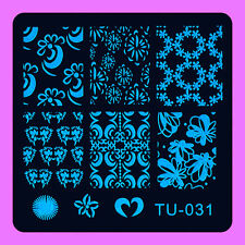 NEW Stamping Manicure Image Nail Art Image Stamp Template Tool Plate Polish T-31