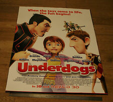 UNDERDOGS *ORIGINAL UNFOLDED* 2013 One Sheet Movie Film POSTER - ANIMATED SPORTS