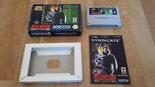 Syndicate für SNES Super Nintendo komplett mit OVP und Anleitung