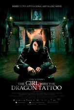 POSTER THE GIRL WITH THE DRAGON TATTOO STIEG LARSSON #1