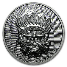 2016 Canada 1 oz Silver $25 Art of Parliament: Wild Green Man - SKU#95301