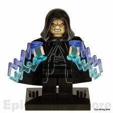 Custom Darth Sidious Palpatine Star Wars Minifig fits with Lego xh205 UK Seller