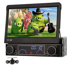 """SINGLE 1 DIN 7"""" CAR DVD CD PLAYER RADIO STEREO GPS Navi DIGITAL DVB-T TV +Camera"""