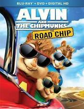 Alvin and the Chipmunks: The Road Chip (Blu-ray/DVD, 2016, .free shipping