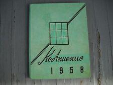 """1958 Mid-Pacific High School Yearbook """"Ke Anuenue"""" Honolulu Oahu Hawaii"""