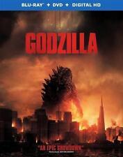 Godzilla (Blu-ray ONLY, NO DVD, 2014)