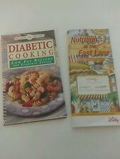 Diabetic Cooking Booklet & Fast Food Nutrition Guide