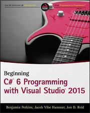 BEGINNING VISUAL C# 2015 PROGRAMMING - NEW PAPERBACK BOOK
