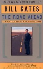 """BILL GATES' """"THE ROAD AHEAD"""" AUDIOBOOK 2 CASSETTES READ BY RICK ADAMSON"""