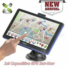 "7"" xgody Car GPS Navigation Lorry Coach Truck Navigator Nav 8GB POI Speedcam"