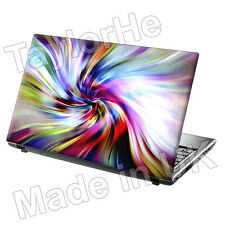 "15,6 ""Laptop piel cubierta Sticker Decal Color remolinos 175"