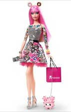 BNIB TOKIDOKI BARBIE DOLL 2015 COLLECTOR PINK HAIR TATTOOS NEW MINT!
