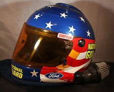 Very Rare-NASCAR race used Fueler Pit Crew Gas Man helmet - Greg Biffle Roush