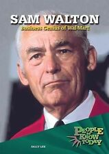 Sam Walton: Business Genius of Wal-Mart (People to Know Today)-ExLibrary