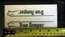 True Temper Decal