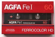 AGFA FeI 60 Ferrocolor HD audio cassette (New & Sealed)
