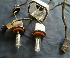 97 98 Lincoln Mark 8 Hid Headlight Bulb Original OEM, ROUND connector and cup