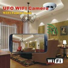 P2P Smoke Detector Wireless IP Camera Digital Video Record for Smartphone USA
