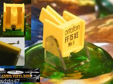 DIAMANT ORIGINAL  ORTOFON NF / FF 15 XE MK II   ELLIPTIQUE / ELIPTICAL