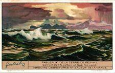 6Cards c1935 Vieuws of Tierra del Fuego Cap Froward Fjord Agostini Cap Horn