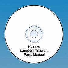 KUBOTA TRACTOR PARTS MANUAL l2600dt l2600 DT