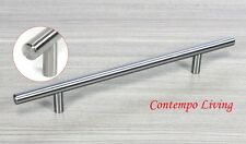 "12"" Solid Stainless Steel Kitchen & Bathroom Cabinet Hardware Bar Pull Handle"