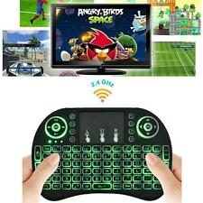 Backlight LED Mini i8 Wireless Keyboard 2.4GHz Keyboard Remote Control Touchpad