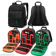 Waterproof DSLR Camera Bag Backpack Case with Carabiner for Canon Nikon Sony